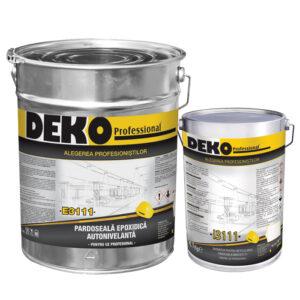 pardoseala epoxidica autonivelanta pentru uz profesional Deko E3111