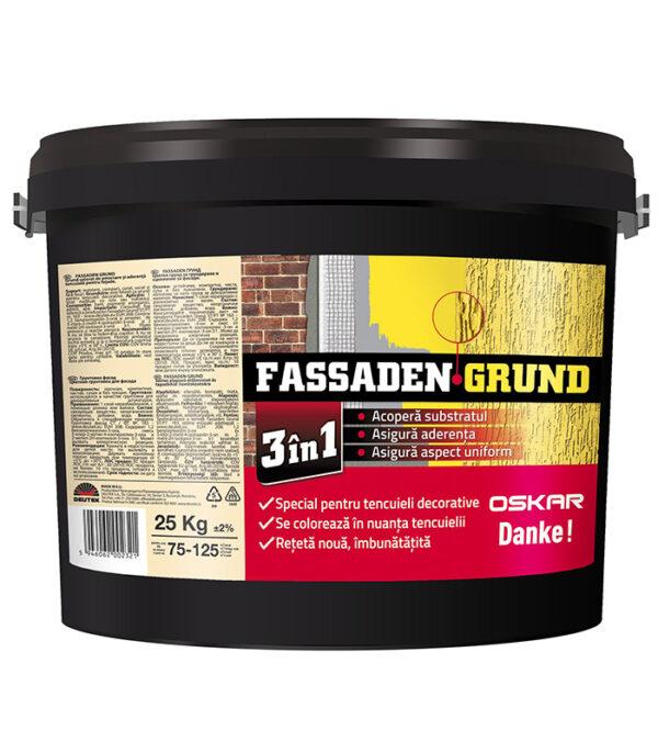 deutek Fassaden Grund 3 in 1 pentru Oskar si Danke! grund special pentru tencuieli decorative
