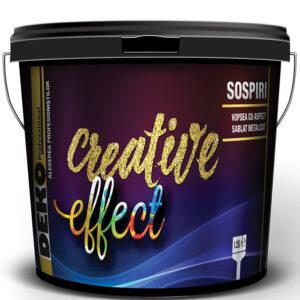 Vopsea DEKO Creative Effect Sospiri Gold/Silver