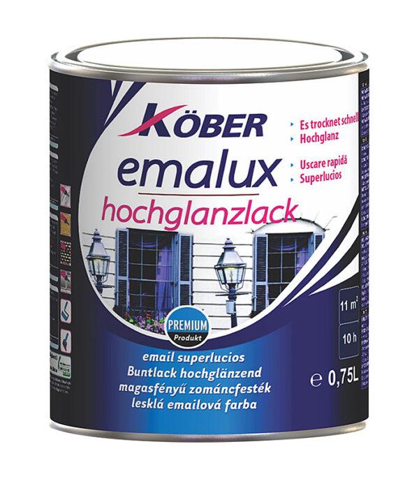Kober emalux - email superlucios alb