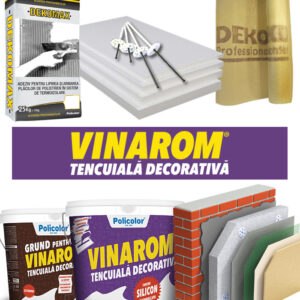 Termosistem ieftin VINAROM polistiren