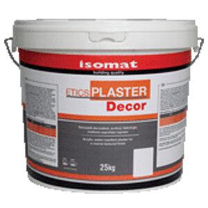 ISOMAT ETICS PLASTER DECOR - tencuiala acrilica color