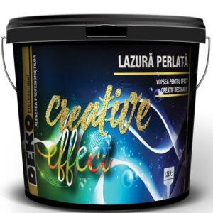 DEKO Creative Effect LAZURA PERLATĂ - vopsea pentru efect decorativ