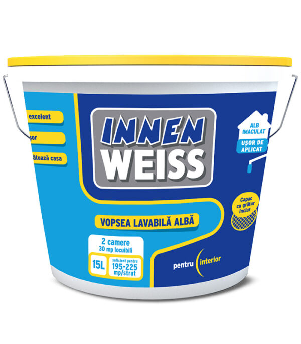 INNENWEISS - vopsea lavabila pentru interior