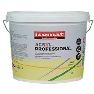 ISOMAT ACRYL PROFESSIONAL - lavabila pentru exterior