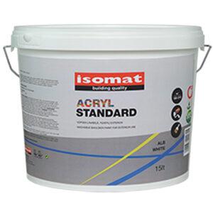 ISOMAT ACRYL STANDARD - lavabila pentru exterior