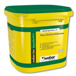 weber hidroizolatie flexibila bicomponenta weber.tec superflex D2