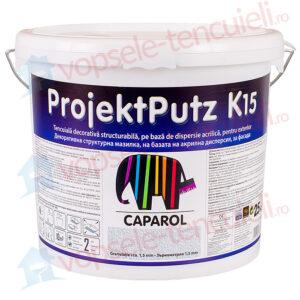 Tencuiala decorativa Caparol ProjektPutz R si K