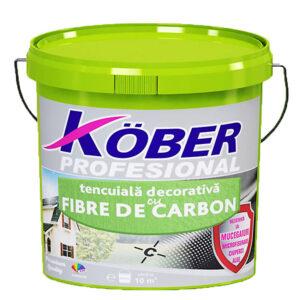 "tencuiala decorativa cu fibre de carbon ""scoarta de copac"" Kober readymix"