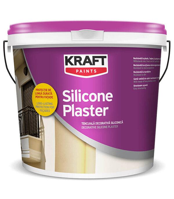 tencuiala decorativa KRAFT Silicone Plaster